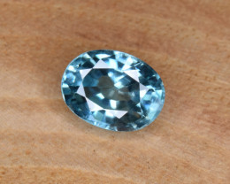 Natural Blue Zircon 2.28 Cts Top Luster Gemstone