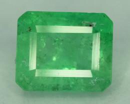 1.40  * Carats Natural Colombian Emerald Gemstone