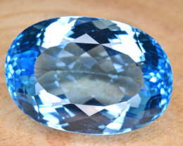Natural Blue Topaz 33.02 Cts Top Clean Gemstone