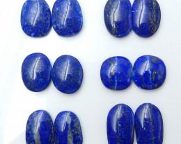 Lapis Lauzli  Cabochons ,Blue Gemstone  Beads ,Jwelry Making B870