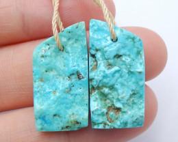 Beautiful Turquoise ,Handmade Gemstone ,Turquoise Pendant ,Lucky Stone B866