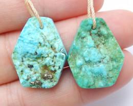 Beautiful Turquoise ,Handmade Gemstone ,Turquoise Pendant ,Lucky Stone B770
