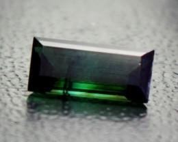 3 CT Natural - Unheated  Green Tourmaline Gemstone