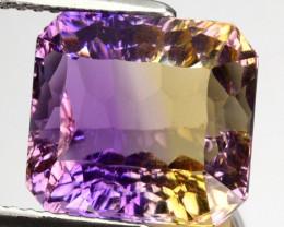 Natural Bi-Color Ametrine Millennium Octagon Bolivia 7.39 Cts