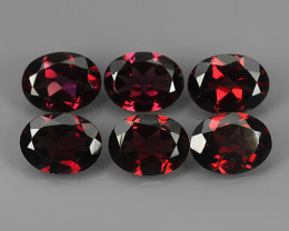 8.40 CTS MAGNIFICENT NATURAL RARE TOP QUALITY OVAL RED RHODOLITE NR!!