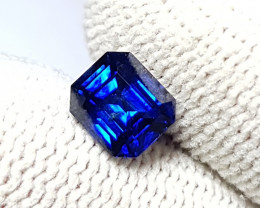 CERTIFIED 1.31 CTS NATURAL TOP QUALITY ROYAL BLUE SAPPHIRE SRI LANKA