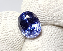 UNHEATED 2.22 CTS CERTIFIED NATURAL STUNNING ROYAL BLUE SAPPHIRE CEYLON