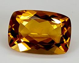 6.60ct Madeira Citrine  Best Grade Gemstones JI21