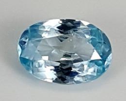 2.25Crt Blue Zircon  Best Grade Gemstones JI21