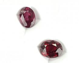2.45Crt Rhodolite Garnet  Best Grade Gemstones JI21