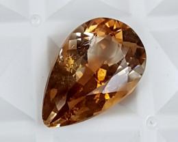 6.30Crt Natural Topaz  Best Grade Gemstones JI21