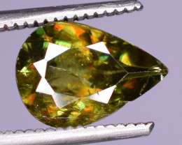 1.55Carats Top Fire  Natural Sphene Gemstones