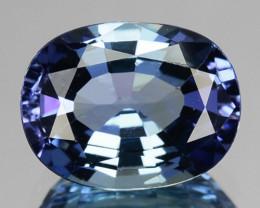~GORGEOUS~ 1.50 Cts Natural Tanzanite Purplish Blue Oval Cut Tanzania