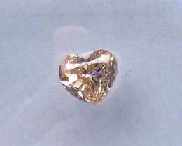 0.48ct Natural Champagne Diamond GIA certified SI
