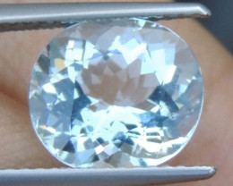3.09cts  Aquamarine,   Clean,