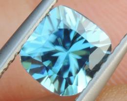 1.72cts, Blue Zircon,  Top Cut