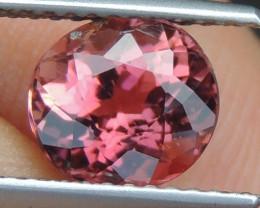 1.72cts, Pink orange purple Tourmaline,  Untreated