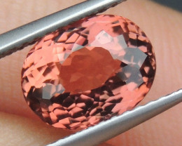 2.67cts, Orange Tourmaline,  Untreated