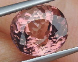 2.95cts, Pink Tourmaline,  Untreated