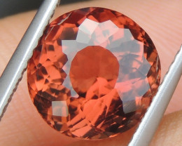 3.82cts,  Hot Orange Tourmaline,  Untreated