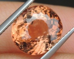 4.78cts, Orange Tourmaline,  Untreated