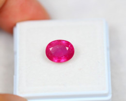 2.82ct Ruby Oval Cut Lot P05