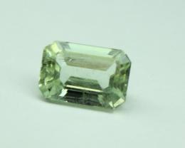 1.40 ct Genuine Aquamarine Faceted Gemstone 7