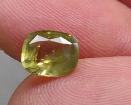 (B10) GFCO Certified Stunning 1.65ct Natural Alexandrite Very RARE!