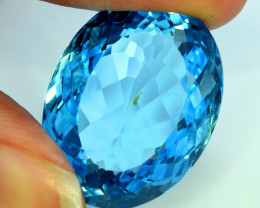 30.70 cts Blue Topaz Gemstone