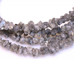 17.65 CTS GREY ROUGH DIAMOND STRAND SD-305