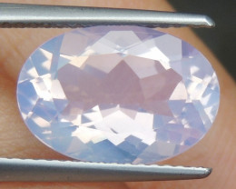 4.49cts Lavender Quartz,  Untreated,