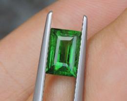1.45cts, Tsavorite,  Untreated,  Pure Green,