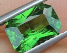 1.71cts, Tsavorite,  Untreated,  Pure Green,