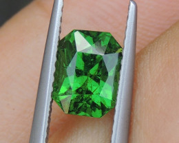 1.78cts, Tsavorite,  Untreated,  Pure Green,