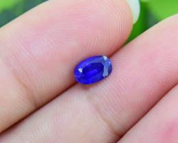 Natural Ceylon Blue Sapphire 0.87ct, attractive colour (01386)