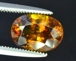 AAA Brilliance 2.80 ct Imperial Sphene