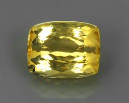 3.00 CTS~NATURAL RARE CUSHION TOP-YELLOW-ORANGE-PRECIOUS- IMPERIAL-TOPAZ