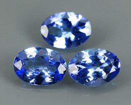 2.25 CTS HUGE SPARKLE BLUE NATURAL TANZANIA TANZANITE OVAL EXCELLENT NR!!!