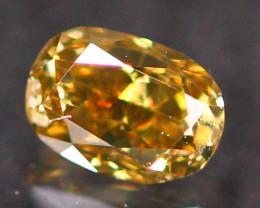 0.14ct Untreated Fancy Intense Dark Brown Color Diamond E2808