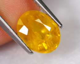 2.45cts Natural Heated Only Yellow Sapphire / 2449