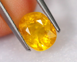 1.97cts Natural Heated Only Yellow Sapphire / 2452