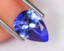 0.96cts Natural Violet Blue D Block Tanzanite / 2302