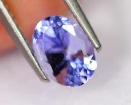 1.25cts Natural Violet Blue D Block Tanzanite / 2303