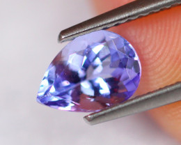 1.14cts Natural Violet Blue D Block Tanzanite / 2304