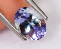 1.33cts Natural Violet Blue D Block Tanzanite / 2311