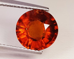 "3.85 Ct "" Collector's  Gem"" Marvelous Oval Cut Natural Hessonite"