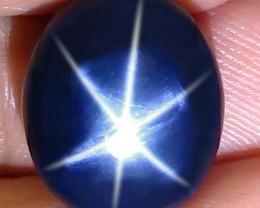 18.33 Carat Southeast Asian Blue Star Sapphire - Gorgeous