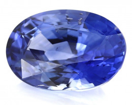 4.00 ct Oval Blue Sapphire (Rich Royal Blue) - GRS Certified