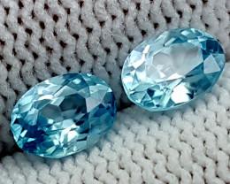 2.20CT BLUE ZIRCON  BEST QUALITY GEMSTONE IGC73