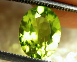 2.47 Carat Vibrant Green SI Peridot